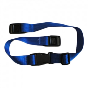Vertical baby changing strap
