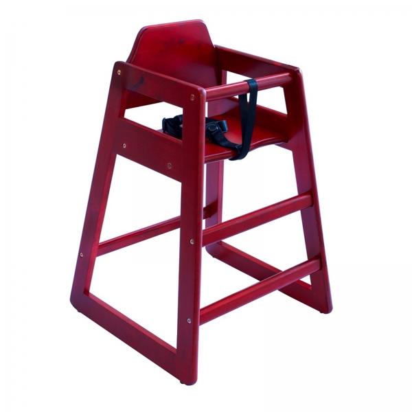 Nino high chair red
