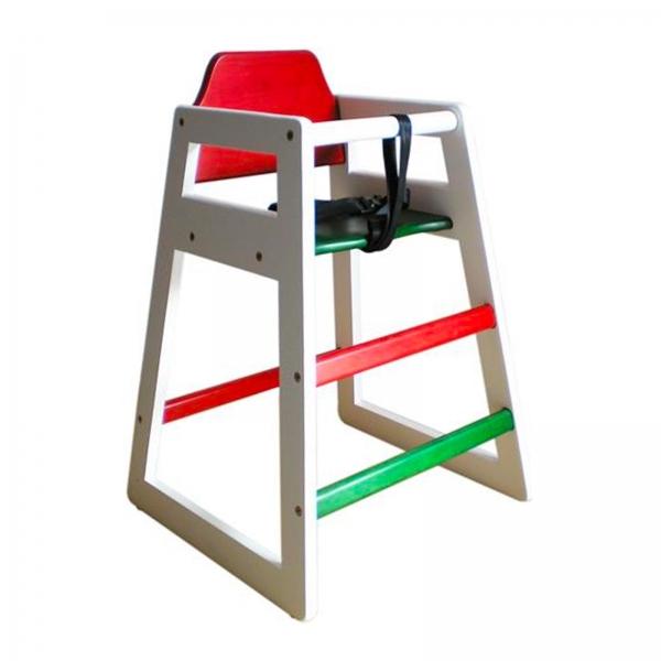 Nino High Chair Tricolori