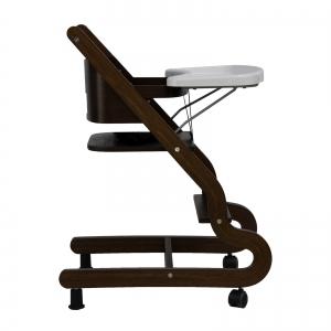 Prestige High Chair Walnut